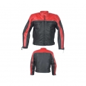Leather Motorbike Men's Jacket AMS-169