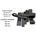 Velcro Adjustable Straps Metal Buckle Luggage Strap Width 25,38,50mm