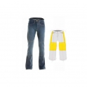 Motorbike Kevlar Denim Jeans with Protections ADJ-100