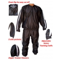 Sweat Sauna Suits Exercise Gym suit Fitness Heavy Duty Weight Loss Anti-Rip