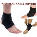 LTG PRO® Neoprene Ankle Support Compression Strap Achilles Tendon Brace Sprain